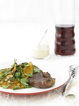 Sirloin steak with roasted pumpkin | Dreamy Dishes | Pinterest