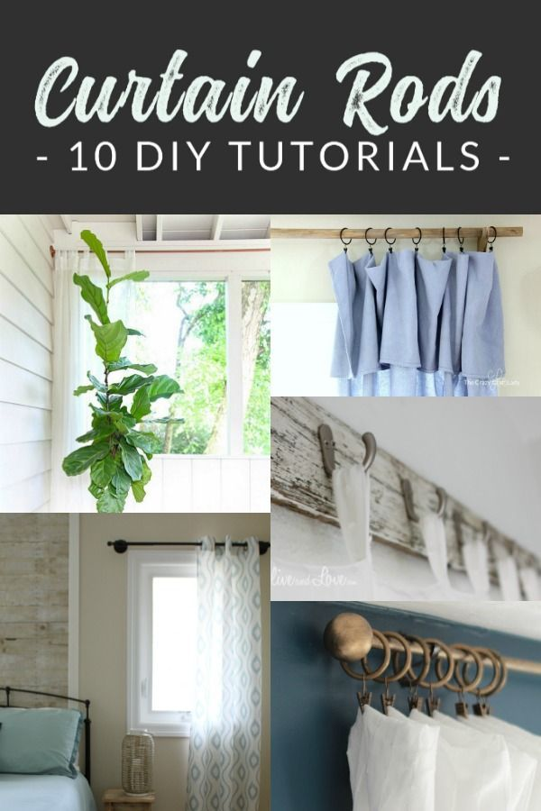 10 Diy Curtain Rods That Will Save You Hundreds Diy Curtain Rods