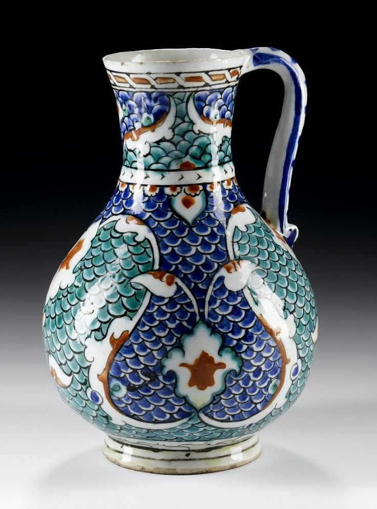 JUG ,Turkey, Iznik, Ottoman, 987 - 992 AH / 1580 - 1585 AD