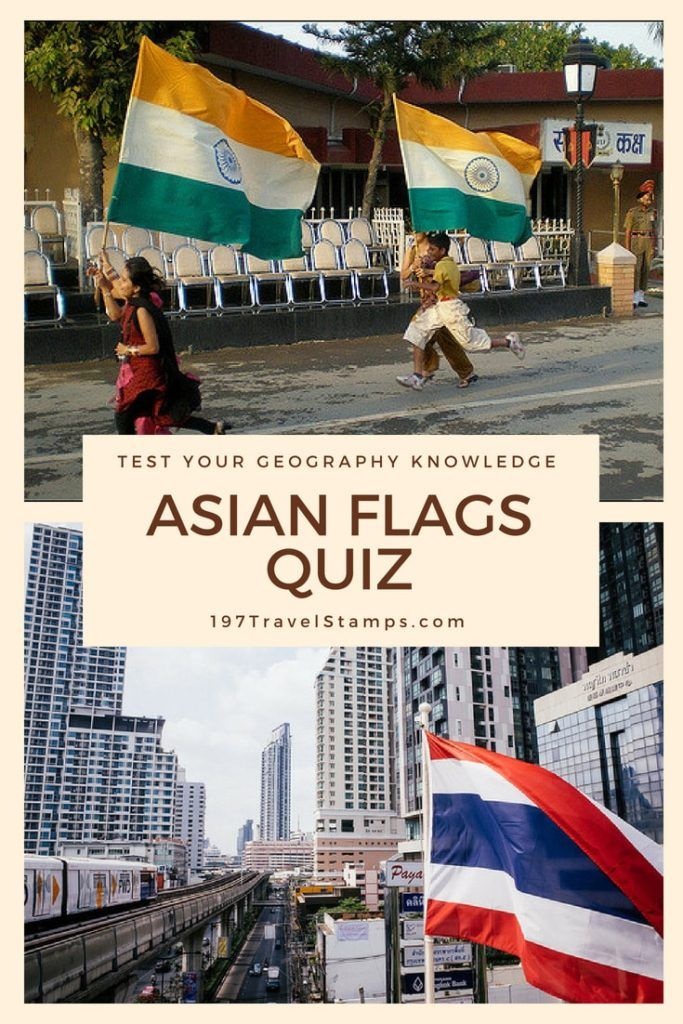 Flags of Asia Quiz How well