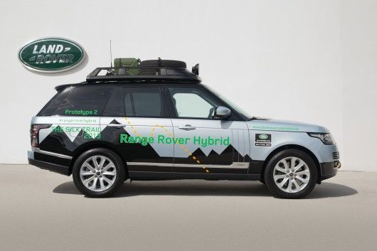 LAND ROVER HIBRID ELECTRIC