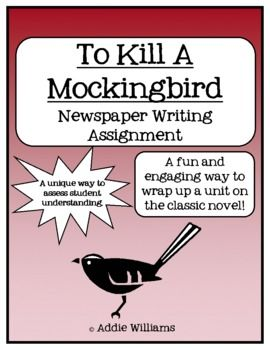 """newspaper article on to kill a mockingbird News about harper lee, including commentary and archival articles published in the  tom santopietro's """"why 'to kill a mockingbird' matters"""" is painstakingly."""