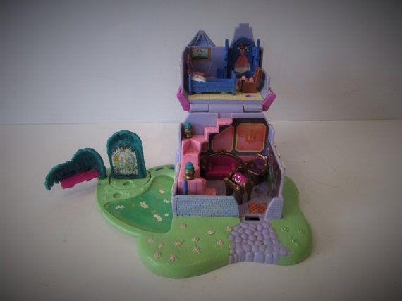 Época maravillosa casa Polly Pocket 1995 Cenicienta por MEMsArtShop