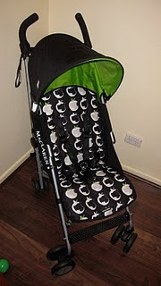 DIY Stroller Liner (Britax inserts are not cute)
