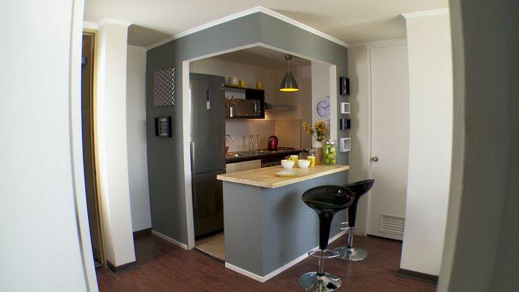 C mo remodelar una cocina americana hagaloustedmismo for Remodelar cocina integral