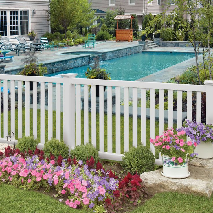 Best 25 Vinyl Fencing Ideas On Pinterest
