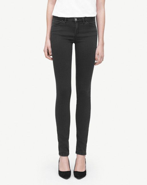 Classic skinny fit denim trousers with a super slim leg. Flattering fit that sits on the waist with trademark Filippa K stitching running across back pockets. <br><br>  - Sits on waist/hip<br/> - Super slim leg <br><br>