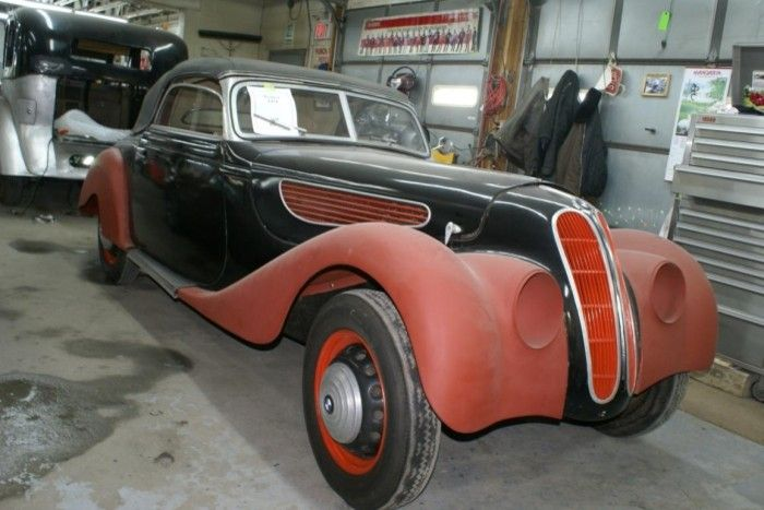 1937 BMW 327   Car, Bmw, Roadsters