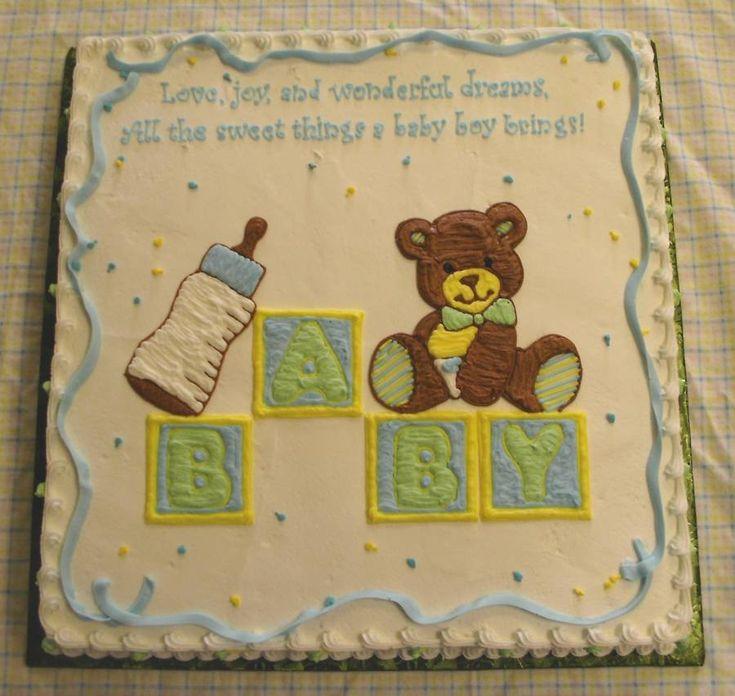 baby shower cakes for boys | Brenda's Baby Shower Cakes