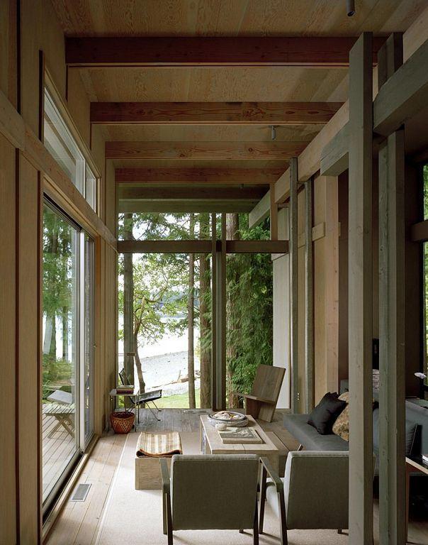 Cabin at Longbranch, Washington by Olson Kundig Architects