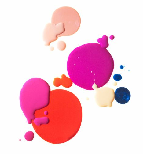 pops of color: Colour, Ideas, Color Inspiration, Nailpolish, Nail Polish Colors, Art, Paint, Pink, Blush