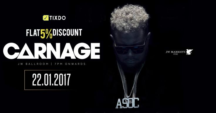 Would you miss a weekend gig with artists like Carnage and Tom Ferro? We say, don't!  Book your tix at tixdo.com now!  #weekend #carnage #2017