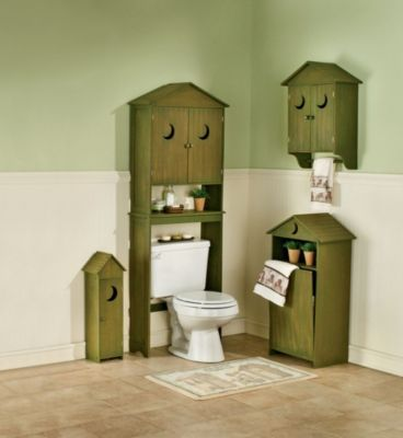 Shopping Drawer: Outhouse Bathroom Decor for Lodge or Rustic Decor Look