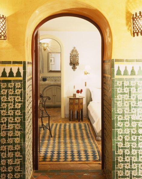 Moroccan Hallway