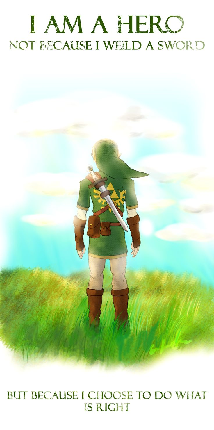 The  Legend of Zelda | Link by They-Are-Not-Stars