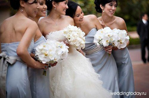 Свадебные наряды для подружек невесты