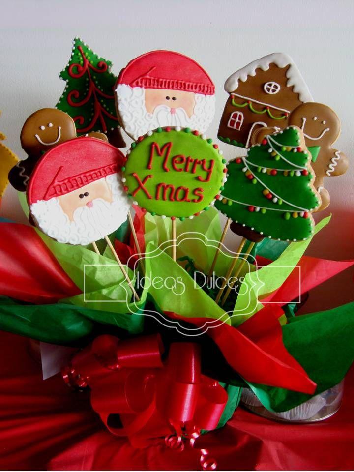 Arreglo de galletas de Navidad para Martha