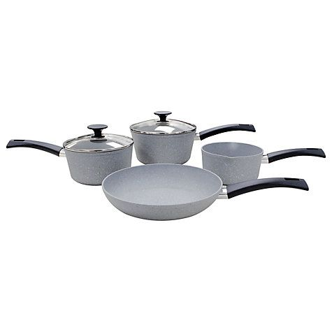 Buy Eaziglide Neverstick Cookware Set, 4 Piece Online at johnlewis.com