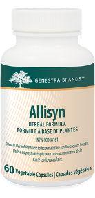 Allisyn by Genestra. Allisyn provides freeze-dried garlic bulb powder and Cinnamon Bark and is ideal for vegans.