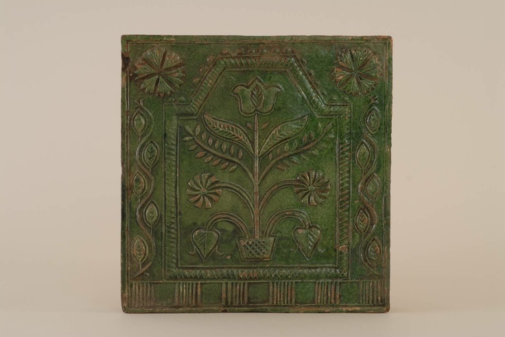 Tile from Kingdom of Hungary / Transylvania. Museum of Ethnography, Budapest (NM 101272)