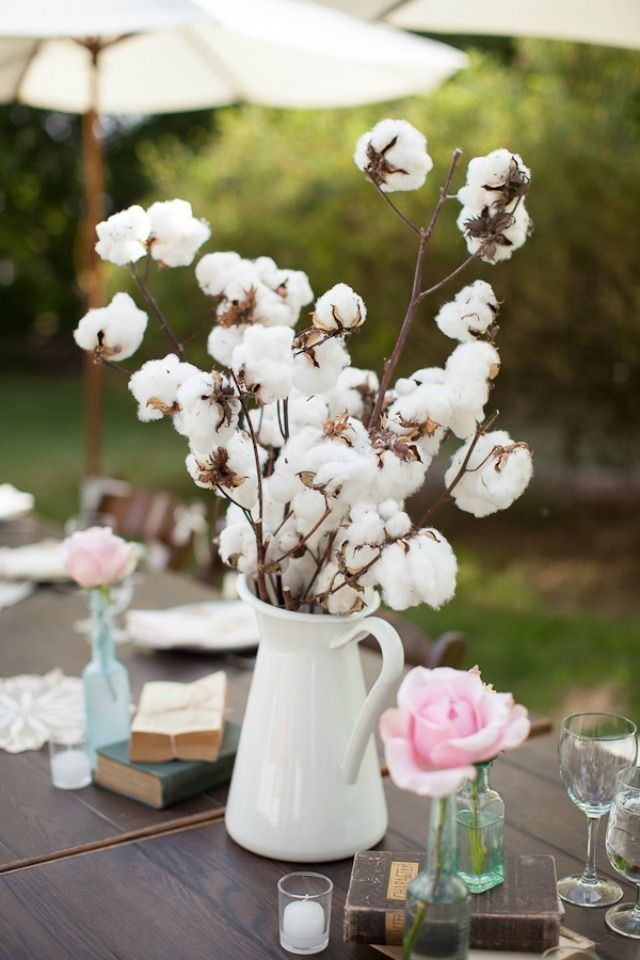 Algodón para bodas