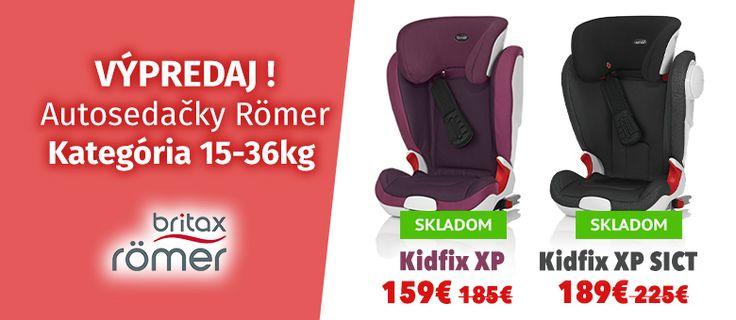 Výpredaj - Autosedačky Britax-Römer