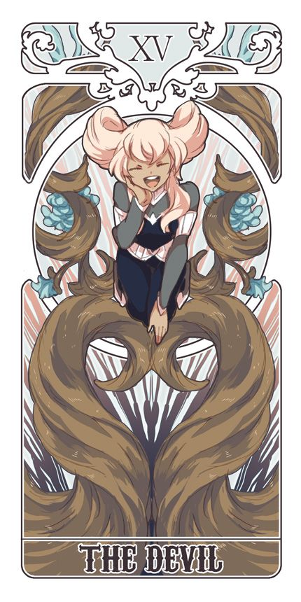 anime tarot cards | ... Eleven GO Chrono Stone, Orca (Inazuma Eleven), The Devil, Tarot Cards