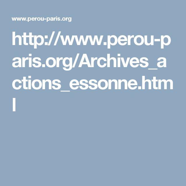 http://www.perou-paris.org/Archives_actions_essonne.html