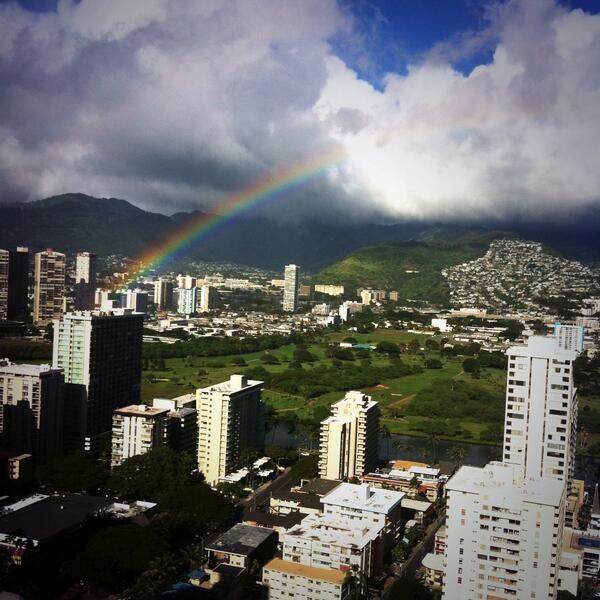 Waikiki, Hawaii  Taken by @Elizabeth White  25/12/2013