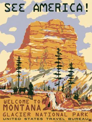 See America! Glacier National Park...my fav!
