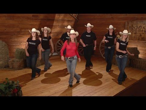 Cowboy Cha Cha - Line Dance Instruction - YouTube
