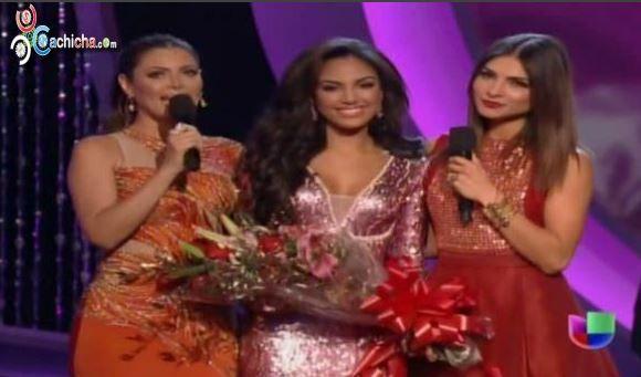 Dominicana Nabila Tapia Queda Segunda Finalista De Nuestra Belleza Latina 2014 #Video