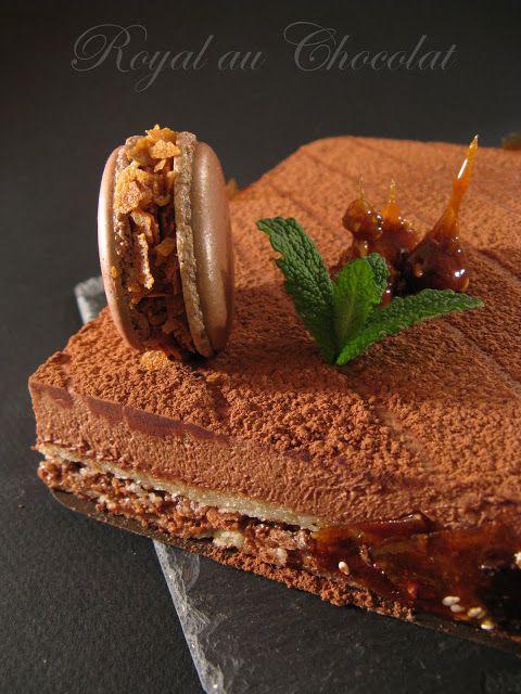 J'en reprendrai bien un bout...: Le Royal au Chocolat