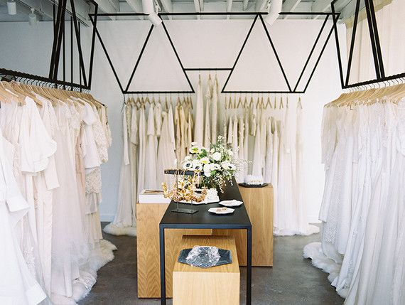 Designed by Stewart-Schafer | LOHO Bride West Hollywood store