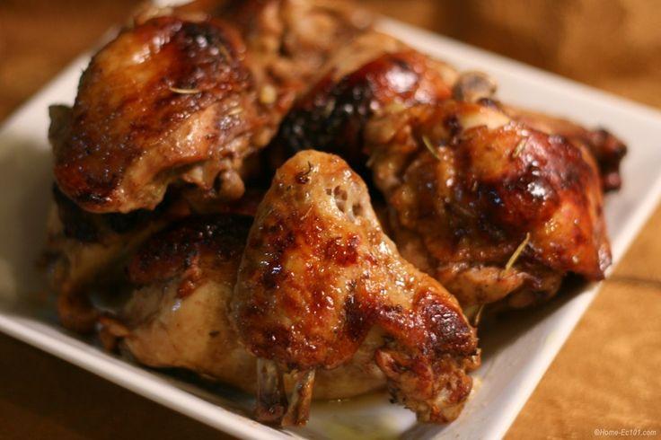 Fantasztikusan finom tepsiben sült fokhagymás csirke!