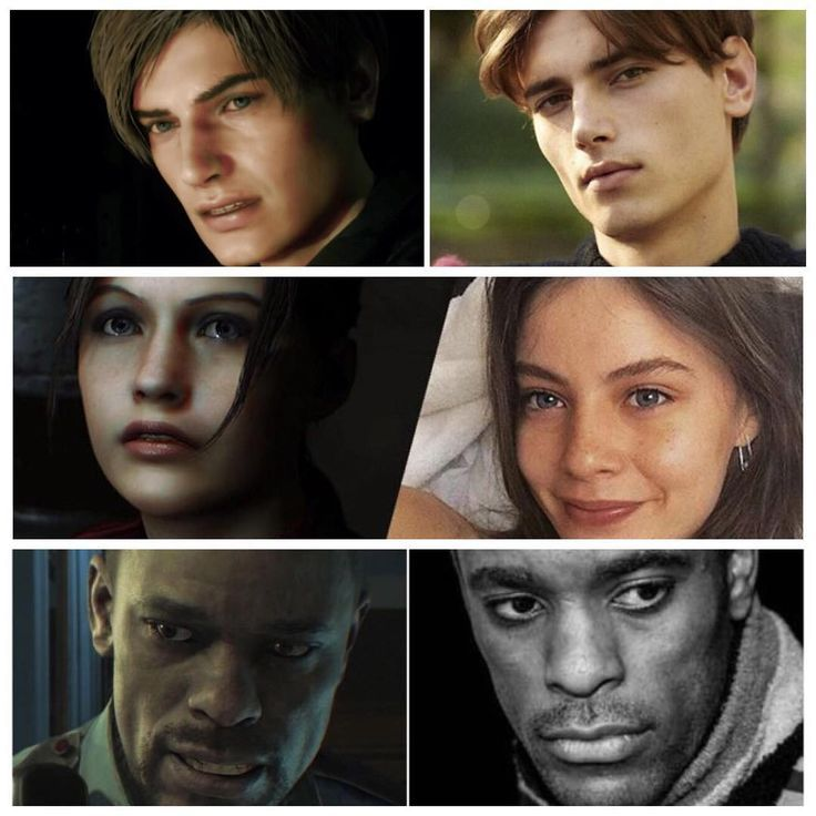 The Faces Behind Resident Evil 2 Remake Characters Leon S Kennedy