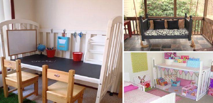 Patut pentru copii - 30 de idei pentru refolosire si reamenajare - http://ideipentrucasa.ro/patut-pentru-copii-30-de-idei-pentru-refolosire-si-reamenajare/