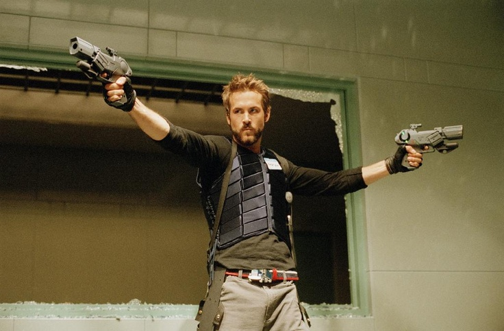 Blade Trinity-a super hot Ryan Reynolds and Dominic Purcell in the same movei *sigh*