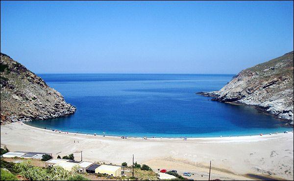 #Zorgos #beach, #Andros #Greece | #heliadesvillas | http://www.heliadesvillas.com/