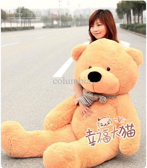 Wholesale Teddy Bear - Buy Boyds Large 1.6 Meters Teddy Bear Lovers Big Bear Arms Stuffed Animals Toys Plush Doll, $44.32 | DHgate