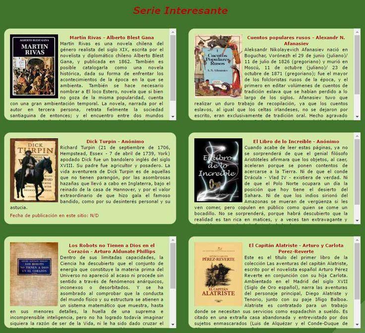 Libros maravillosos. Libros para descargar en PDF