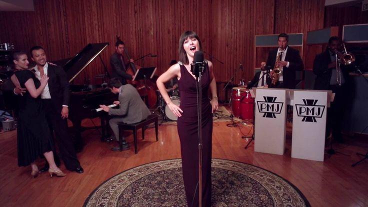 """I Will Survive"" - Vintage '40s Jazz / Latin Ballroom Style Cover ft. Sara Niemietz"