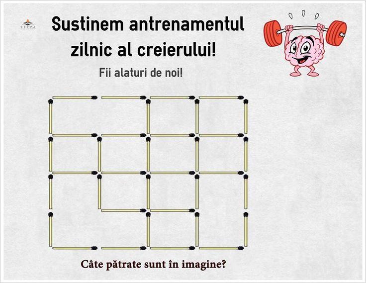 Câte pătrate sunt în imagine?