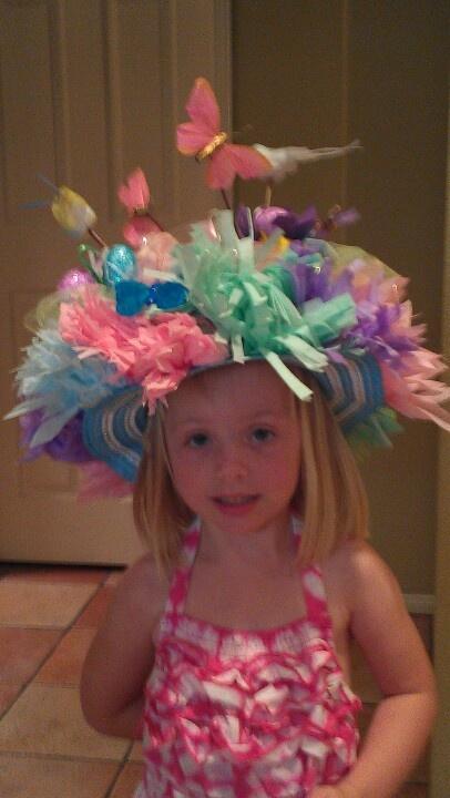 Easter crazy hat