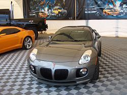 #Autobots #Jazz The Pontiac Solstice used to portray Jazz