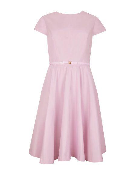 Ted Baker - Aug 2014 - Full skirt dress - Baby Pink   Dresses   Ted Baker UK http://www.tedbaker.com/uk/Womens/Clothing/Dresses/DANELE-Full-skirt-dress-Baby-Pink/p/112380-58-BABY-PINK