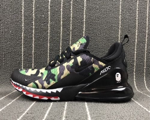 571bce5323d Where To Buy Bape x Nike Air Max 270 Black Camo - Mysecretshoes ...