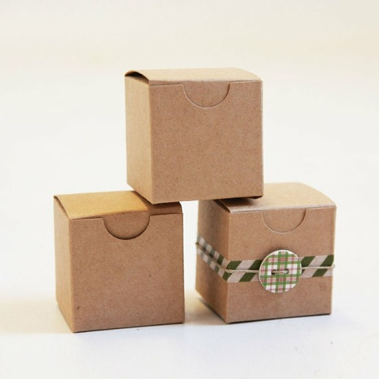 Completely new 23 best Natural Kraft Gift Boxes images on Pinterest | Packaging  SR47