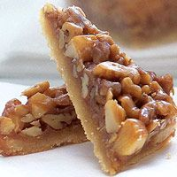 Caramel-Nut Triangles