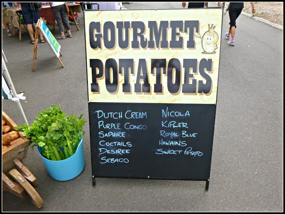 Bondi Farmers Market - Gourmet Potatoes?